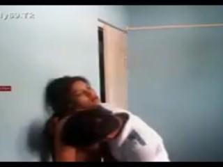 Indian Couple got sex in college rooms Hidden cam