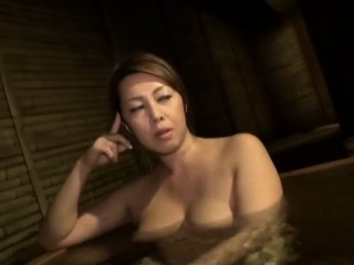 Japanese MILF fucked in flimsy clit