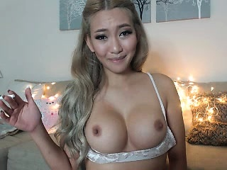 Horny asian indulge with chubby boobs