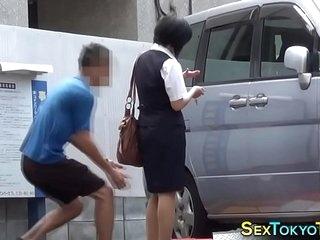 Hot japanese babes groped