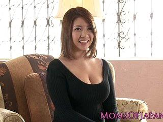 Mature japanese old lady toyed and throatfucked