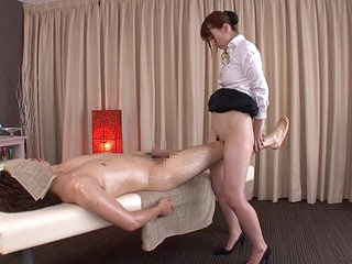 Subtitled used Japanese bottomless rub-down Yui Hatano