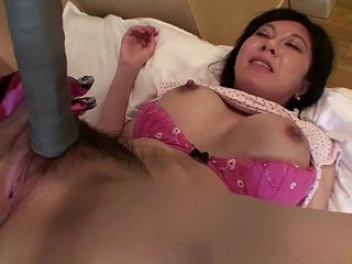 Uncensored Japanese milf affair thither tennis racket Subtitled