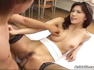 Hot Japanese babe fucked mercilessly