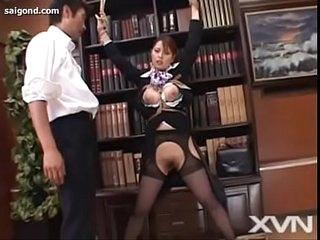 Japanese babe uncensored chalet underling