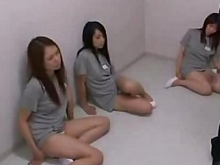 Japanese babes abused in prison