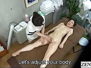 JAV CFNF Lesbian Massage Infirmary Masturbation Help Subtitled