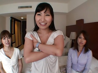 Hottest Japanese chick in Amazing Group Sex, Amateur JAV movie