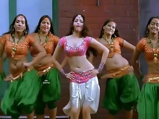 DK Edit India actress navel VS JAV Japan actress navel 3