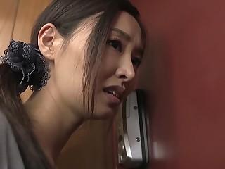 Fabulous Japanese floosie in Horny JAV movie