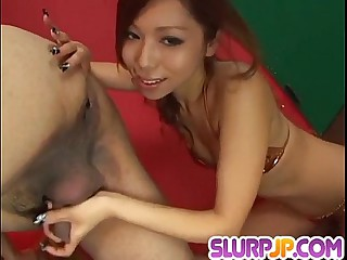 Misa Tsuchiya amazes with her crestfallen POV blowjob