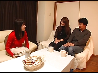 Young wife and young mother-in-law scene 4(censored)